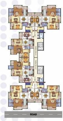 Skytech Merion Residency I Cluster Plan