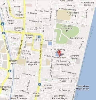 Krishna Teja Location Plan