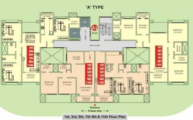 Kumar Palmgrove Cluster Plan