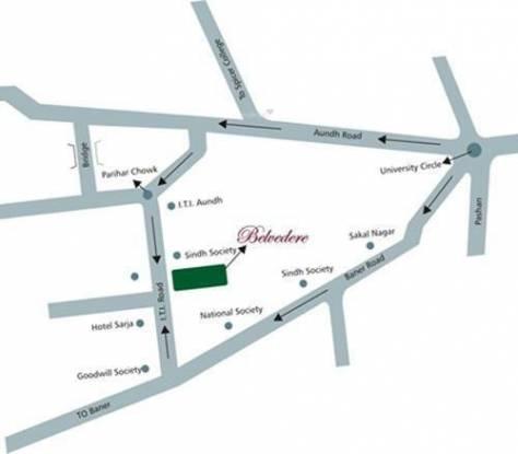 Rachana Belvedere Location Plan