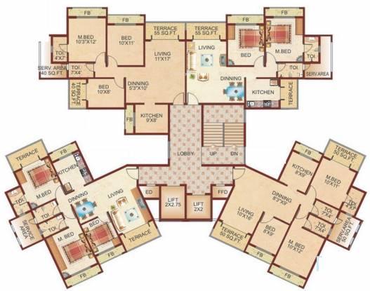 Zenith Bhoomi Harmony Cluster Plan