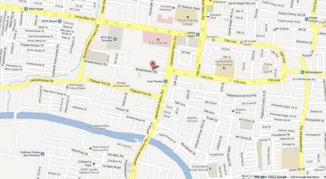 Landmark Metropolis Location Plan