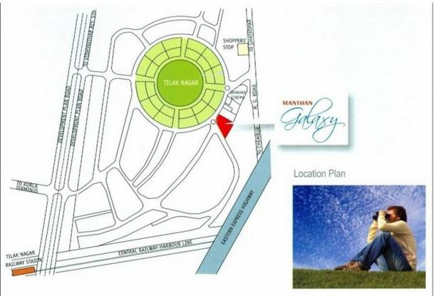 Manthan Galaxy Location Plan