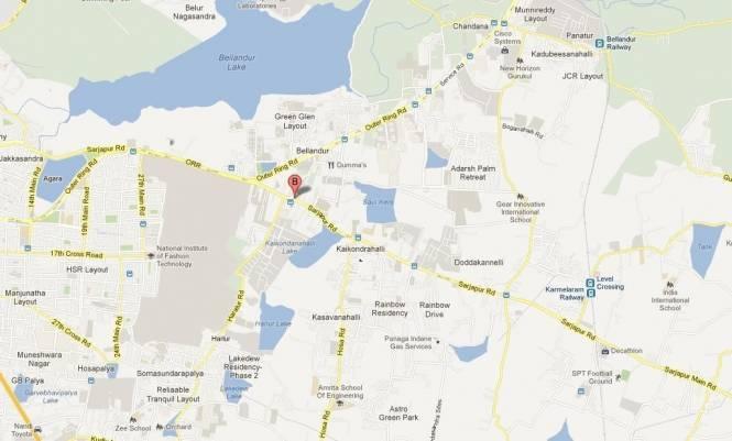 VV Hamilton Bliss Location Plan