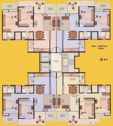 Gulmohar Orchids Cluster Plan