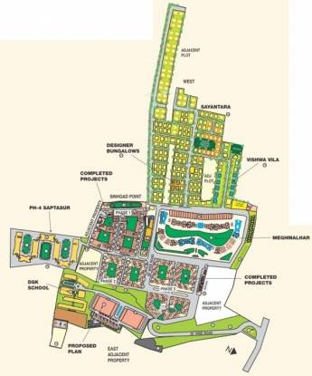 DSK Saptasur Master Plan