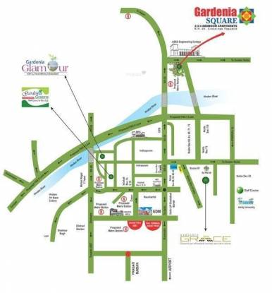 Gardenia Square Location Plan