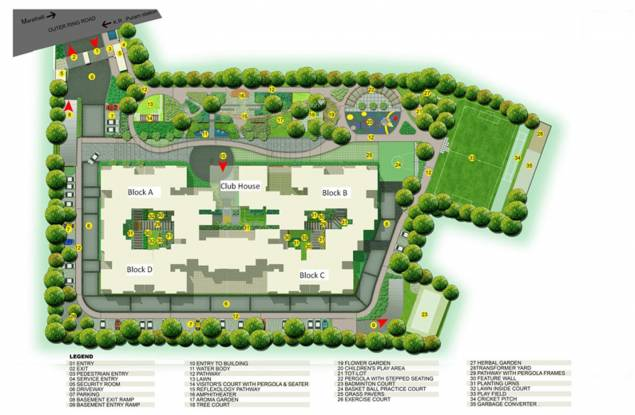 NCC Ivory Heights Layout Plan