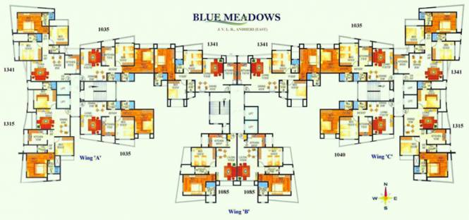 Atul Blue Meadows Cluster Plan