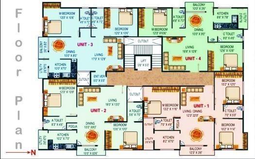 Mahaghar Nandanam Cluster Plan