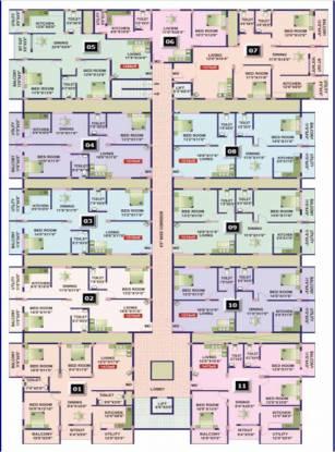 Jana Greenwoods Cluster Plan