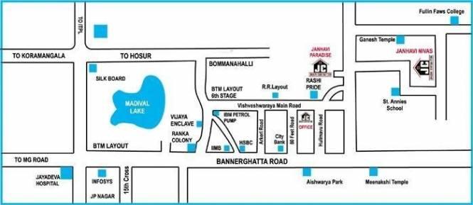 Janhavi Nivas Location Plan