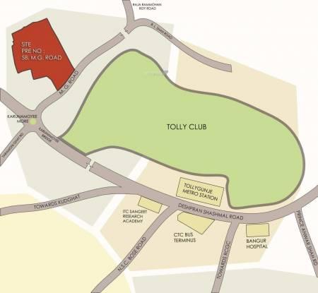Diamond City South Location Plan