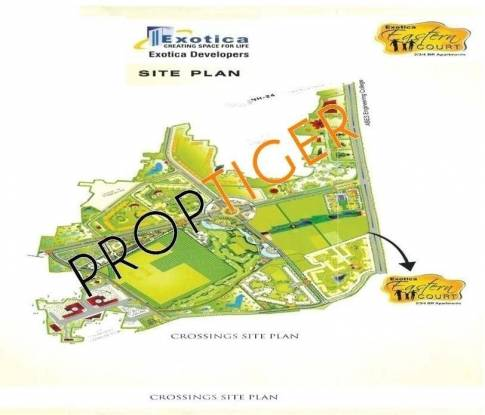 Exotica Eastern Court Site Plan