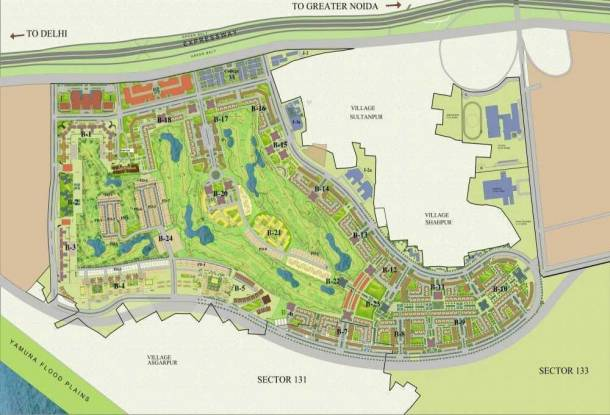 Jaypee Town Homes Site Plan