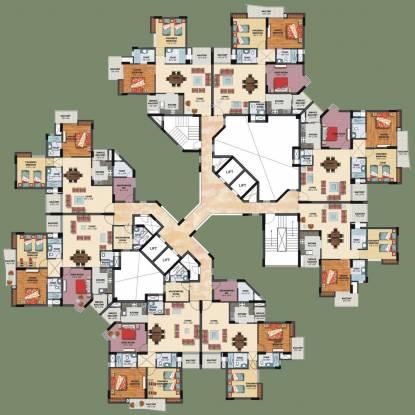 Assotech The Nest Cluster Plan