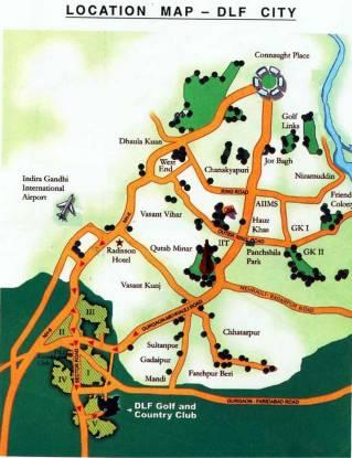 DLF Carlton Estate Location Plan