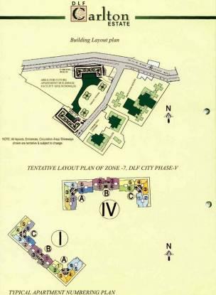 DLF Carlton Estate Site Plan