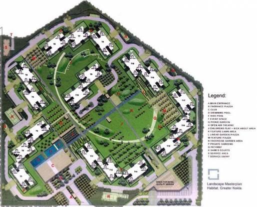 Unitech Habitat Layout Plan