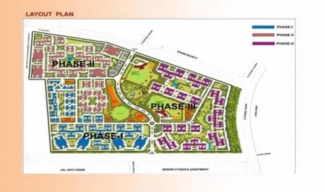AWHO Township Layout Plan