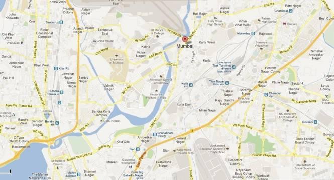 TATA Merwanjee Cama Park Location Plan