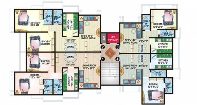 Ecohomes Eco Nest Cluster Plan