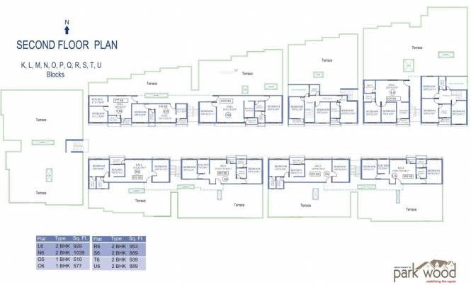 Antony Park Wood Cluster Plan