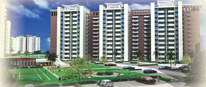 Ansal Fairway Apartment Elevation