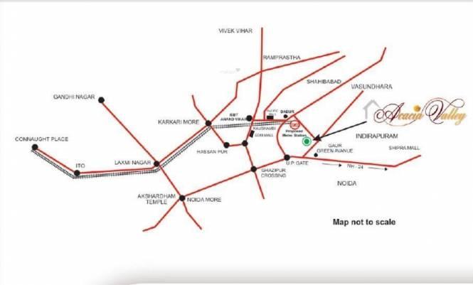 Apex Acacia Valley Location Plan