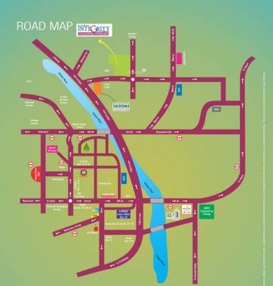 Ajnara Integrity Location Plan