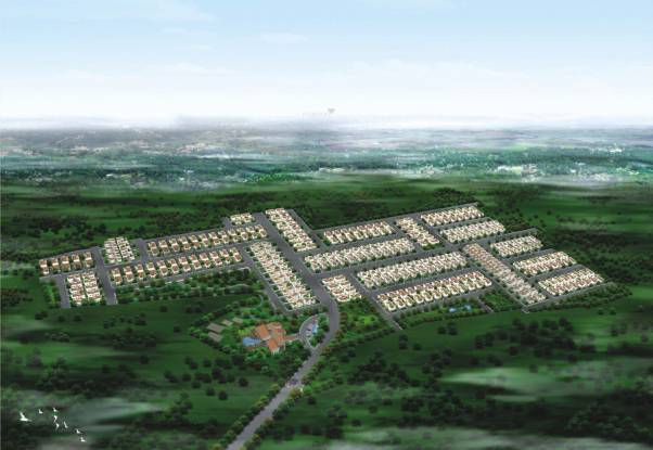 Jai Mata Grandeur The Villas Layout Plan