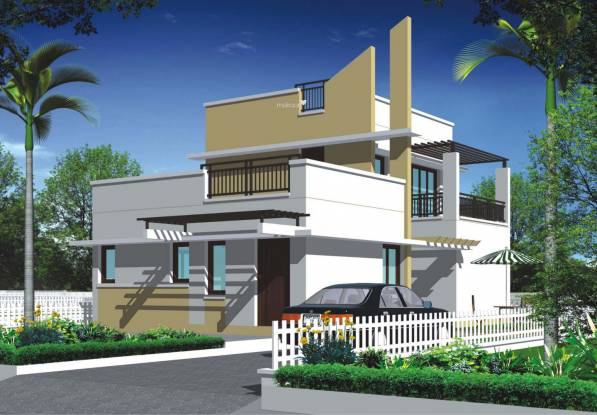 Jai Mata Grandeur The Villas Elevation