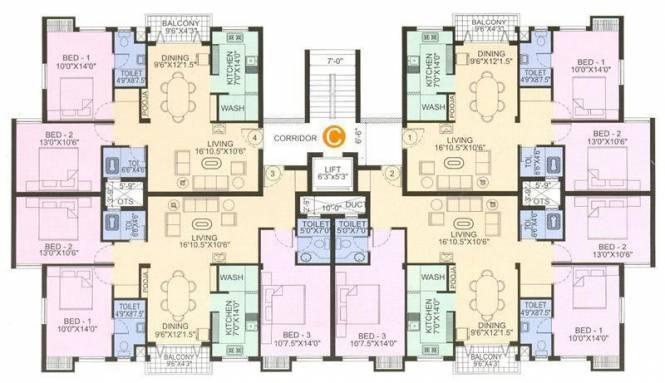 Navin Subhamangala Cluster Plan