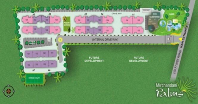 Mirchandani Palms Master Plan