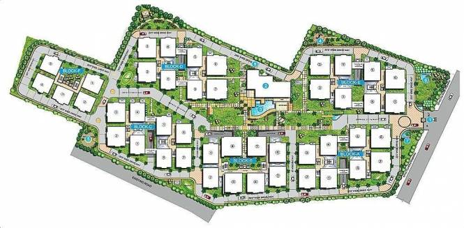 Sri Aditya Sunshine Site Plan