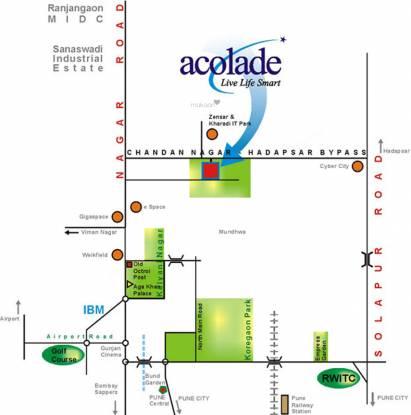 Bhandari Acolade Location Plan
