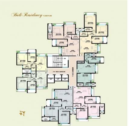 Bali Residency Cluster Plan