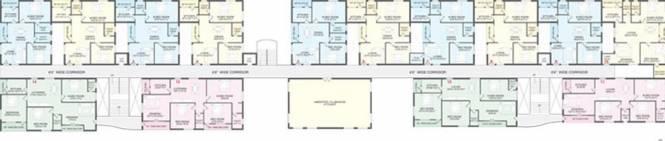 SAP Nandavanam Apartments Cluster Plan