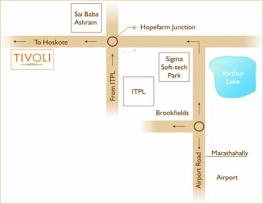 Parkway Tivoli Location Plan
