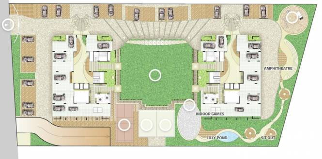 Goyal Orchid Woods Layout Plan