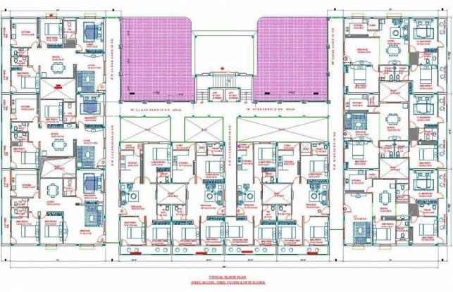 PNR Nagarjuna Dream Land Cluster Plan