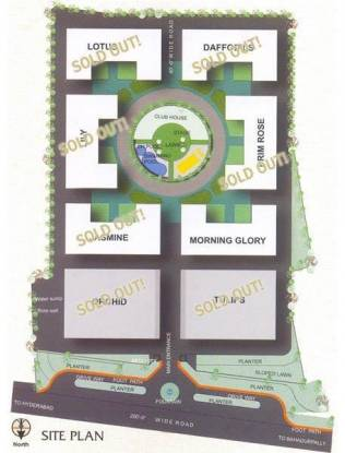PNR Nagarjuna Dream Land Site Plan