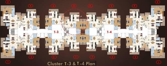 Panchsheel Wellington Cluster Plan