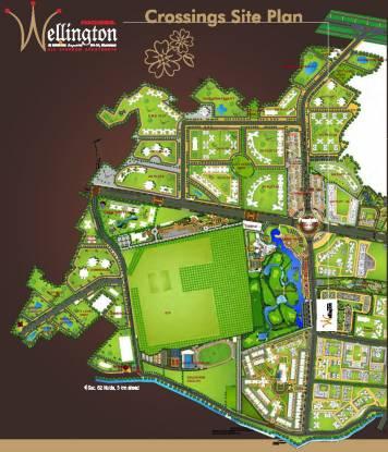 Panchsheel Wellington Site Plan