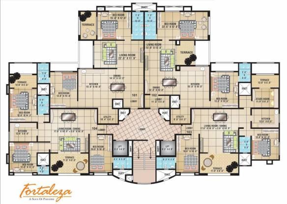 Raviraj Fortaleza Cluster Plan