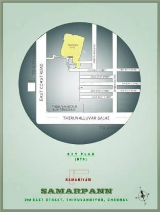 Ramaniyam Samarpann Location Plan