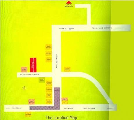 Akshara Whispering Willow Location Plan