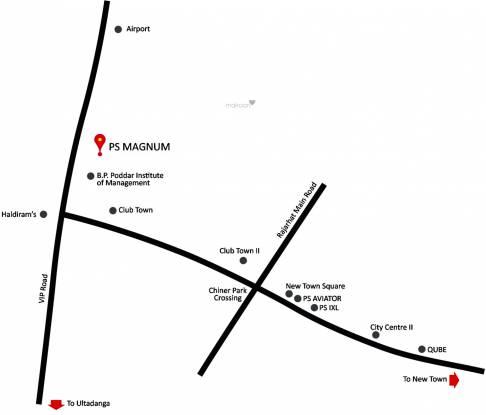 PS Magnum Location Plan