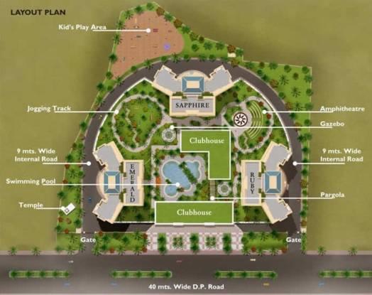 Regency Regency Towers Layout Plan