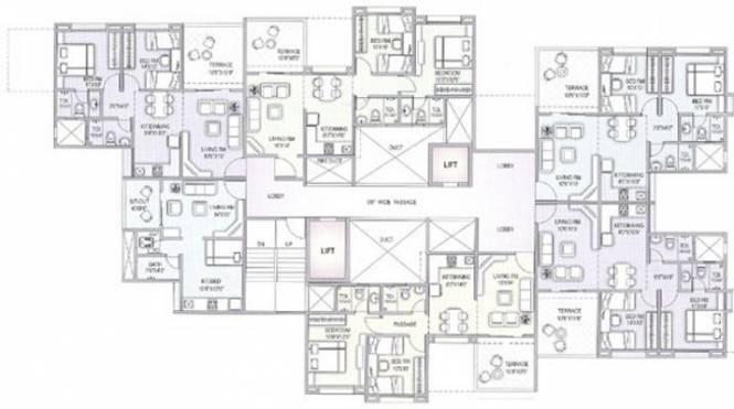 Ratan Housing Prestige Cluster Plan